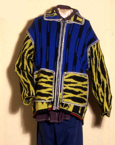 G Force knitted jacket from 1990