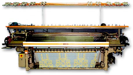 Selectanit V Bed Computer controlled knitting machine.