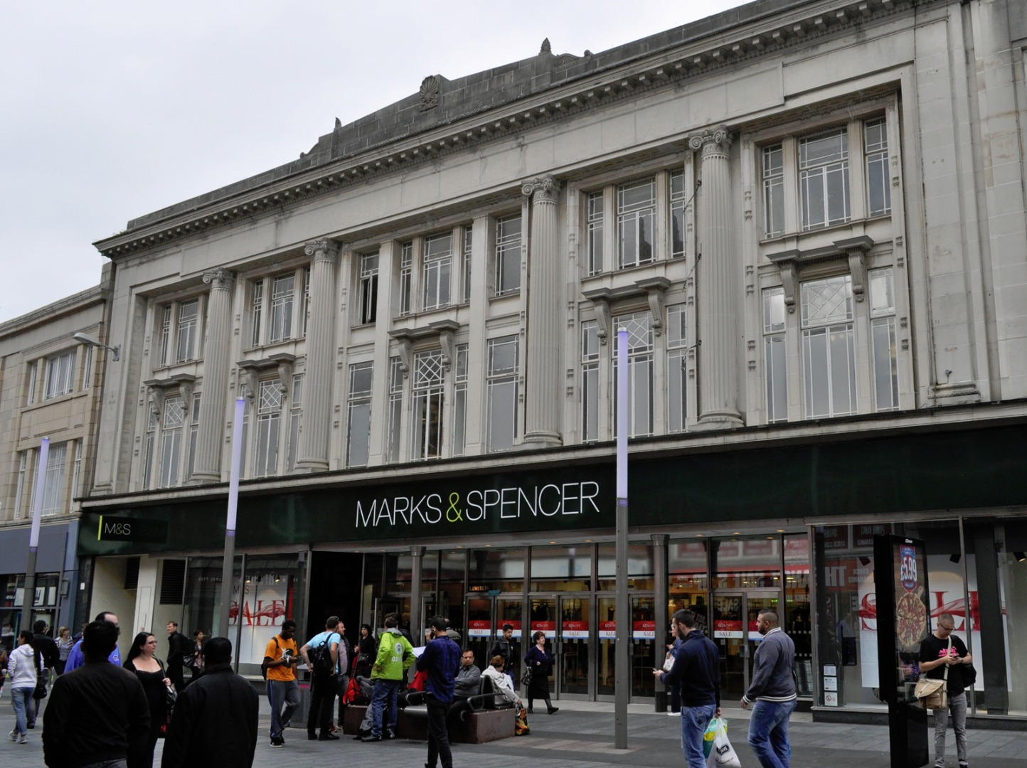 Marks & Spencer in Leicester City Centre